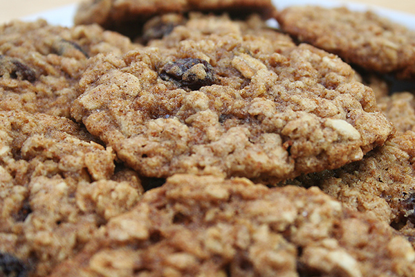 עוגיות שוקולד עם קוואקר
