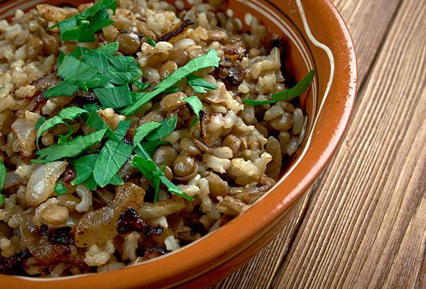 אורז מלא (חום) בניחוח מיוחד