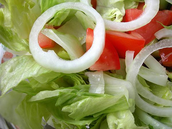 סלט ירקות עשיר